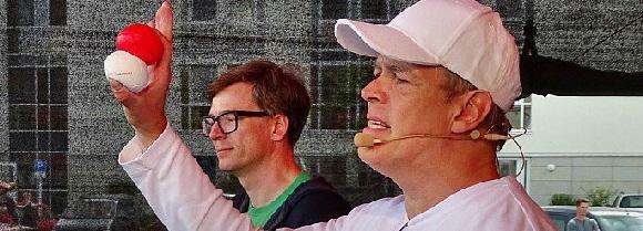 Jonglieren lernen in 20 Min. - Stephan Ehlers + Ralph Caspers gelingt Weltrekord